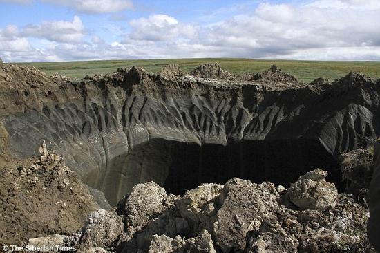 专家警告全球变暖释放大量甲烷:或形成新巨坑