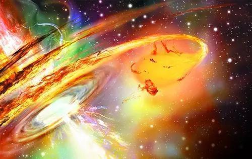 超大质量黑洞如何吞噬恒星?你将看到整个过程