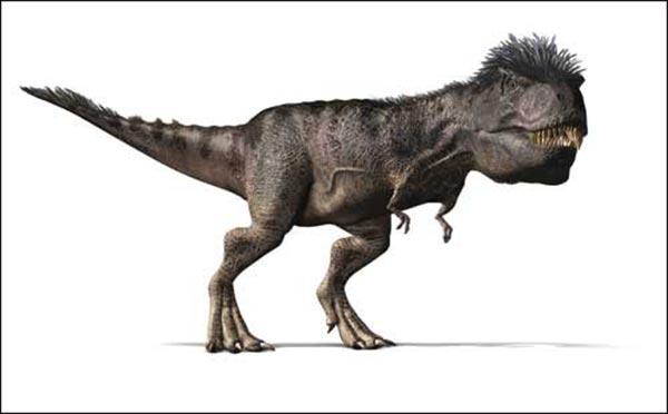BBC《与恐龙共舞》团队发布的霸王龙画像