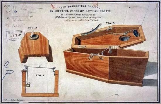 一个由Christian Eisenbrandt设计的安全棺木来源: CHRISTIAN HENRY EISENBRANDT