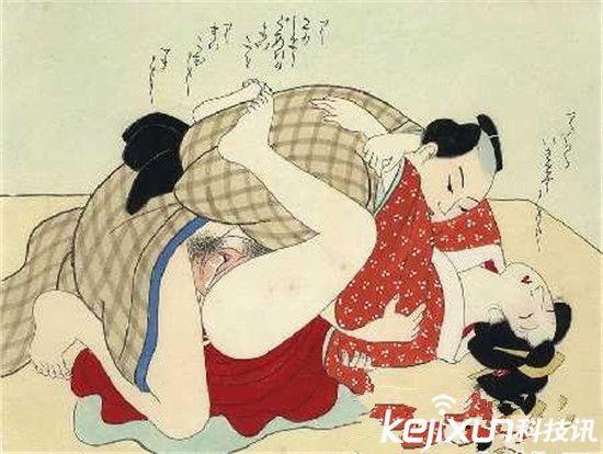 日本春宫图和中国比较尺度惊人 不堪入目!