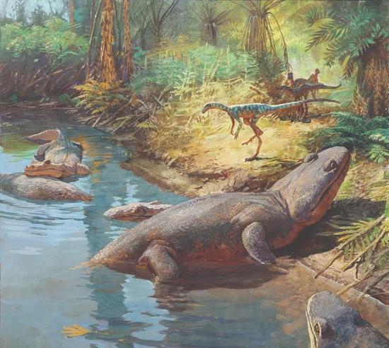 恐龙能称霸地球是因为撞了两次大运 把握时机